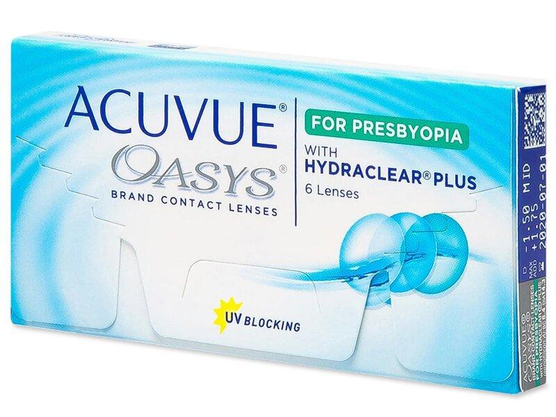 Acuvue Oasys for Presbyopia (6 leč) - Multifokalne kontaktne leče