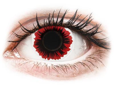 ColourVUE Crazy Lens - Blaze - brez dioptrije (2 leči