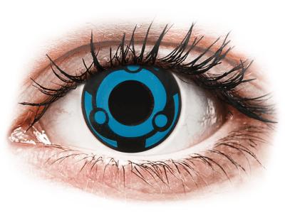 CRAZY LENS -  Vision - dnevne leče brez dioptrije (2 leči)