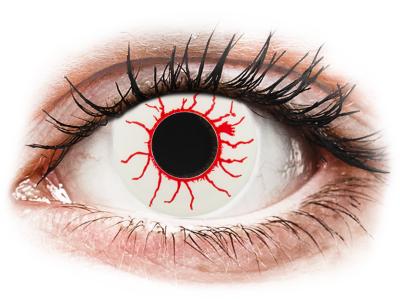 CRAZY LENS - Red Viper - dnevne leče brez dioptrije (2 leči)