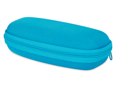 Etui za otroška očala na zadrgo (moder)