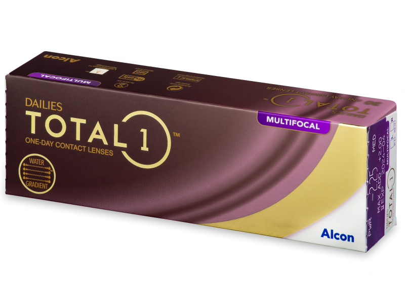 Dailies TOTAL1 Multifocal (30 leč) - Multifokalne kontaktne leče