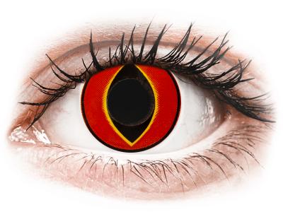 ColourVUE Crazy Lens - Mad Frog - brez dioptrije (2 leči)