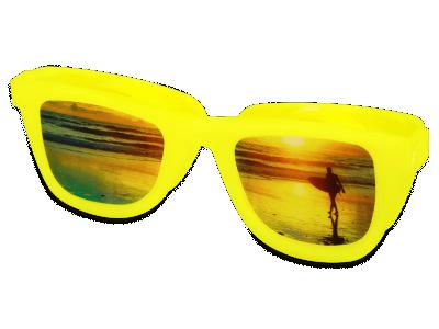 Škatlica za leče OptiShades - rumena