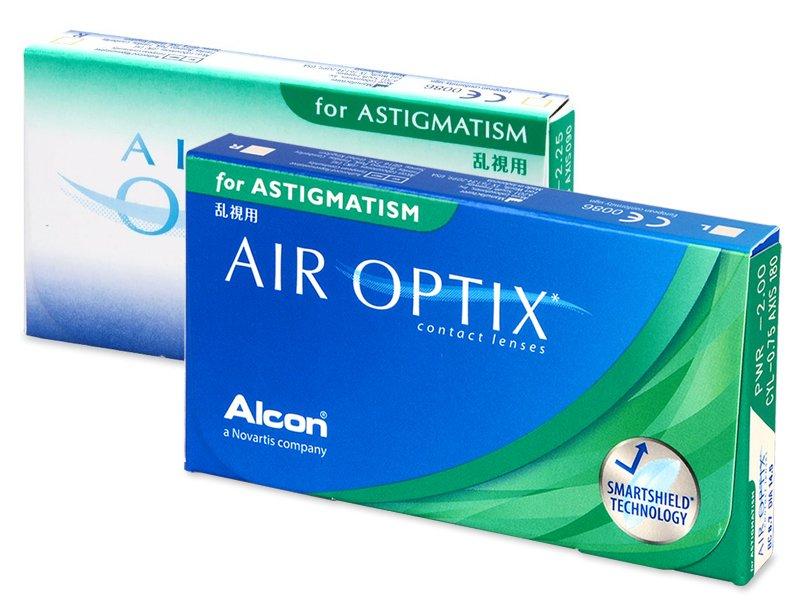Air Optix for Astigmatism (3leče) - Torične kontaktne leče