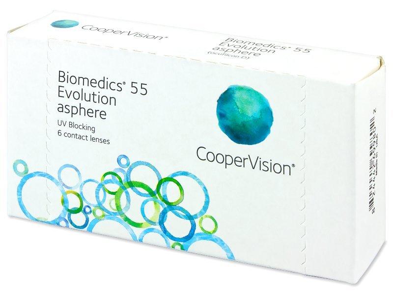 Biomedics 55 Evolution (6leč) - Mesečne kontaktne leče