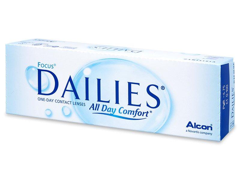 Focus Dailies All Day Comfort (30leč) - Dnevne kontaktne leče