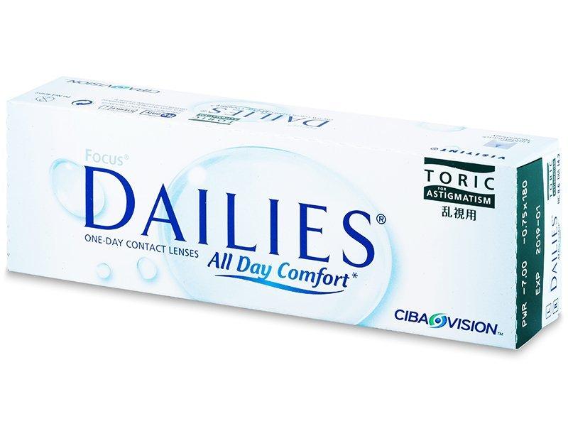 Focus Dailies Toric (30leč) - Torične kontaktne leče
