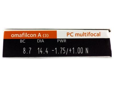 Proclear Multifocal (3leče) - Predogled lastnosti