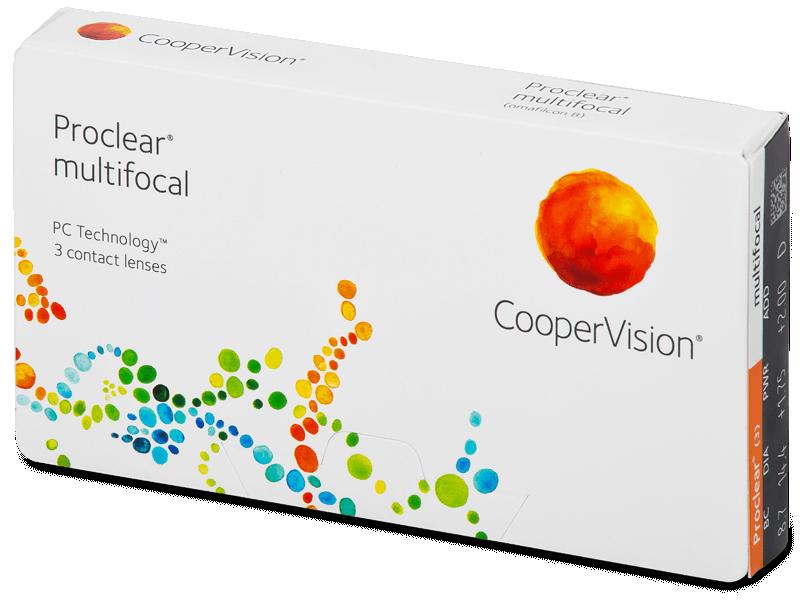 Proclear Multifocal (3leče) - Multifokalne kontaktne leče