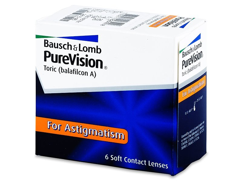 PureVision Toric (6leč) - Torične kontaktne leče