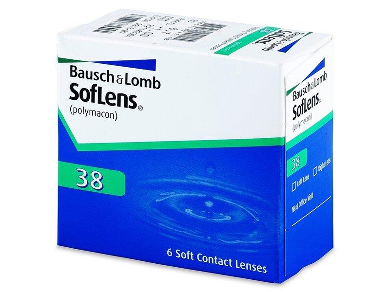 SofLens 38 (6 leč) - Mesečne kontaktne leče
