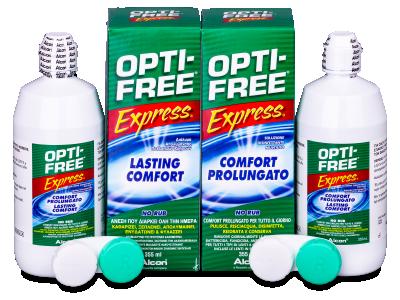 Tekočina OPTI-FREE Express 2x355ml  - Starejši dizajn