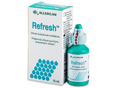 Kapljice za oči Refresh 15 ml
