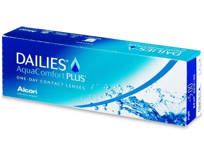 Dailies AquaComfort Plus (30 leč)