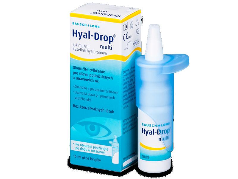 Kapljice za oči Hyal-Drop Multi 10ml  - Kapljice za oči