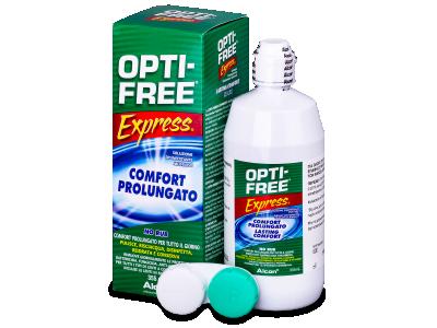Tekočina OPTI-FREE Express 355 ml  - Starejši dizajn