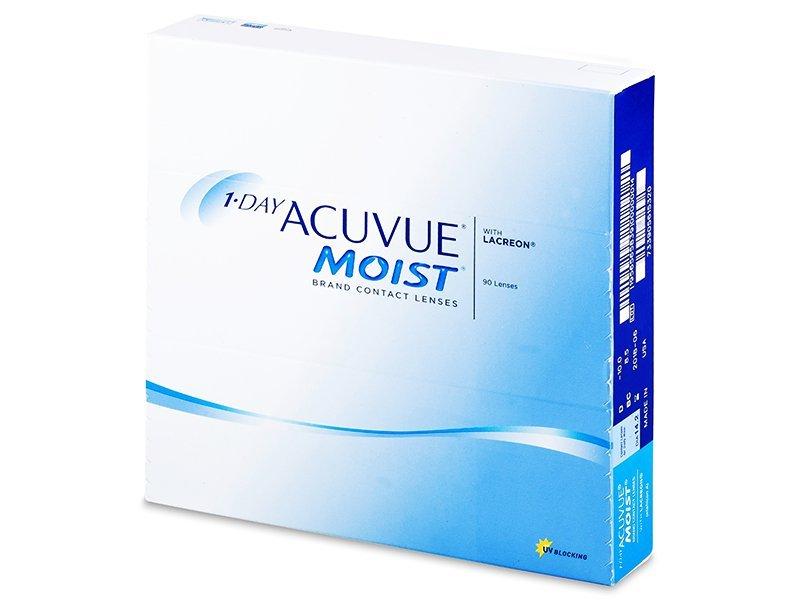 1 Day Acuvue Moist (90leč) - Dnevne kontaktne leče
