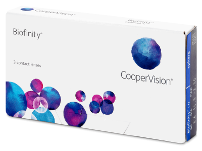 Biofinity (3leče) - Mesečne kontaktne leče