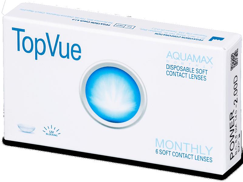 TopVue Monthly (6leč) - Mesečne kontaktne leče