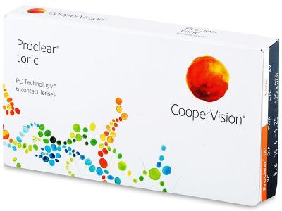 Proclear Toric (6leč) - Torične kontaktne leče