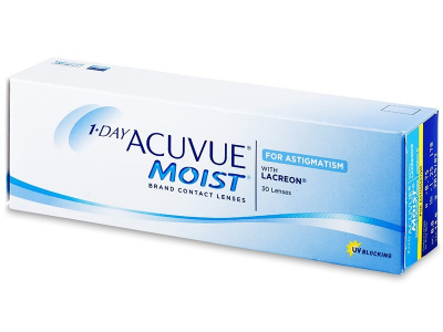 1 Day Acuvue Moist for Astigmatism (30 leč)