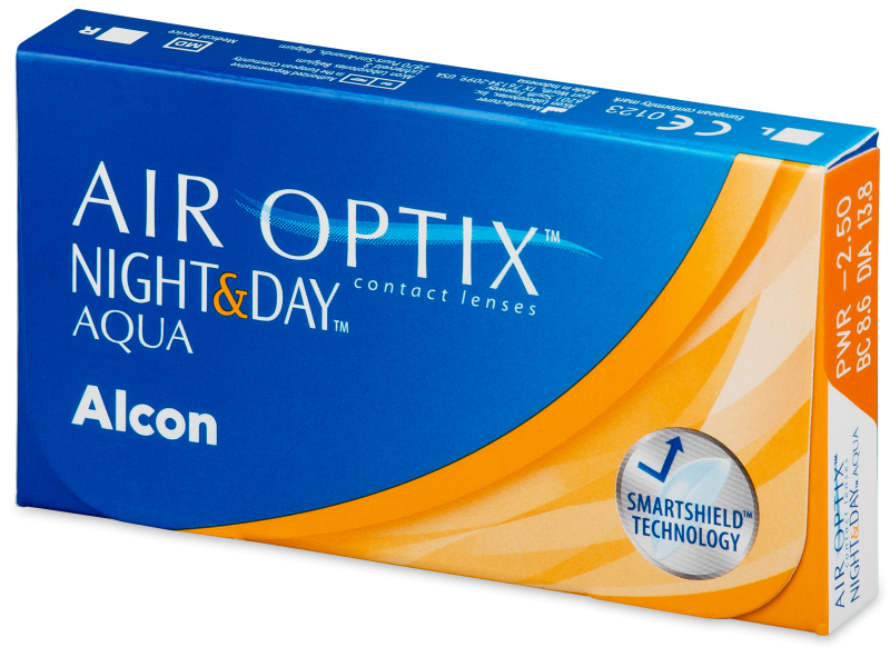 Air Optix Night and Day Aqua (3leče) - Mesečne kontaktne leče